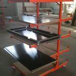 Plateau de préparation de fabrication