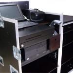 Caisse enregistreuse mobile sur palette